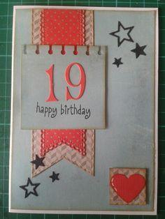 Fødselsdags kort / birthday card