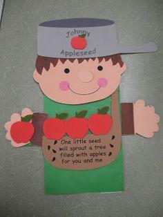 Johnny Appleseed  Mrs. Morrow's Kindergarten