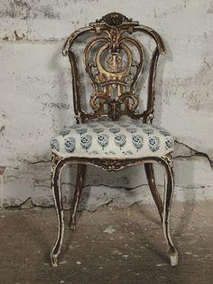 19th century Louis XV chair