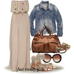 beige maxi dress, Fashion beach dresses and accessories http://www.justtrendygirls.com/fashion-beach-dresses-and-accessories/