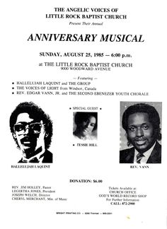 2nd Ebenezer Church In Detroit. Little Rock Baptist Church Angelic Voices Annual Anniversary Musical