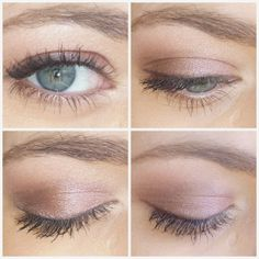 Photo of eyeshadow look wearing Urban Decay Naked 3 palette