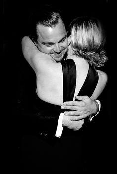 Leonardo DiCaprio & Kate Winslet at the 73rd Annual Golden Globe Awards