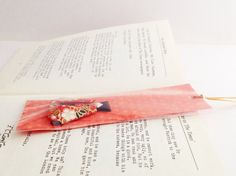 Origami Japanese Doll Bookmark. Paper folding by SelectShopNORA