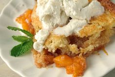 Peach Cobbler Recipe - Dessert.Genius Kitchen