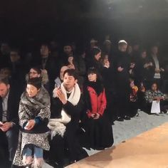 Rei Kawakubo Makes Rare Fashion Week Appearance at Gosha Rubchinskiy