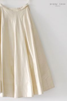 Simple Ivory Lengha Skirts. Shop our classic Orchid Skirt at poppylane.ca