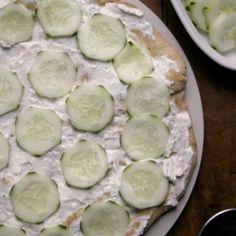 Tzatziki Flatbread Pizza recipe