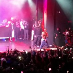 DMX performed on Saturday at The Observatory