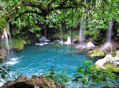 springs and water falls, Puente de Dios, Tamasopo, SLP