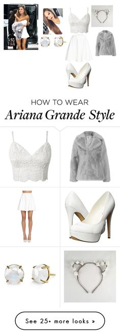 """Steal Her Style : Ariana Grande"" by ciara0509 on Polyvore featuring Alice + Olivia, Michael Antonio and Jakke"