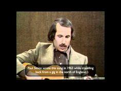 .....Paul Simon sings his inaugural hit.Homeward Bound live on the Michael Parkinson show......1975...
