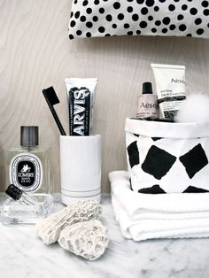 It only makes sense to adorn your thoughtfully designed bathroom with products that are packaged beautifully.