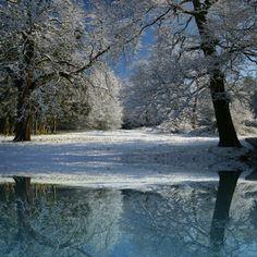 amazing winter river