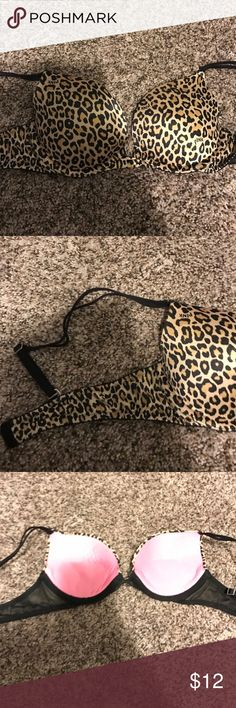 Victoria secret PINK 34A cheetah print bra VS pink 34A bra PINK Victoria's Secret Intimates & Sleepwear Bras