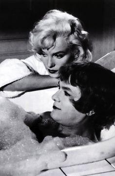 Tony Curtis & Marilyn Monroe - SOME LIKE IT HOT (Wilder, 1959)