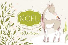 Noël Christmas Collection by Lisa Glanz on @creativemarket