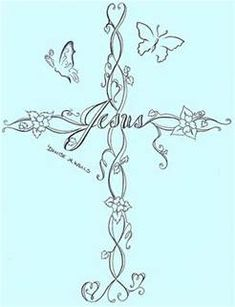 cross tattoo designs for women - Bing Images