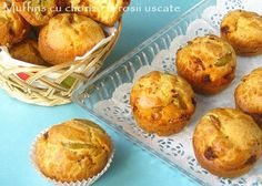 Culorile din farfurie: Muffins cu chorizo si rosii uscate (chorizo-dried tomato muffins) (in Romanian)
