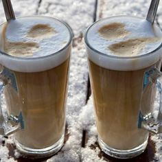 Cocktails, Drinks, Frappe, Milkshake, Pasta Recipes, Hot Chocolate, Latte, Smoothies, Sweets