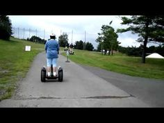 Video of someone on a Segway at Wisp Resort. Fun way to explore Deep Creek lake. Check it out: http://www.wispresort.com/segway-tours.php