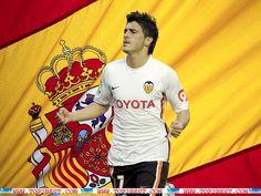 David Villa Spain Euro 2012 HD Wallpapers