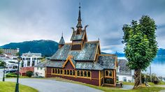 This beautiful ancient church in Balestrand, Norway was the inspiration for Elsa's coronation in Disney's Frozen. A stay at the historic Kviknes Hotel will make the whole family feel like they are right back in Arendelle.
