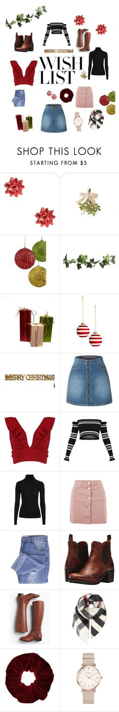 """""""#PolyPresents: Wish List"""" by cheer-isabella ❤ liked on Polyvore featuring LE3NO, Boohoo, Topshop, Taya, Frye, Talbots, Burberry, Miss Selfridge, ROSEFIELD and contestentry"""