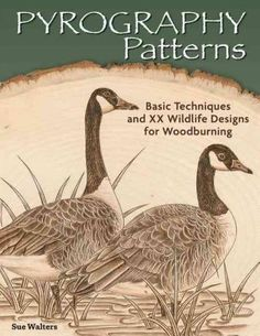 This book offers 30 North American wildlife illustrations and 10 border designs to use in woodburning projects. Large ready-to-use designs are provided in both line and tonal patterns. The author incl