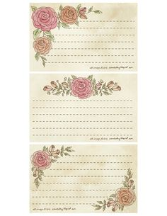 Index Cards- Roses- Click on image- View- Save As!