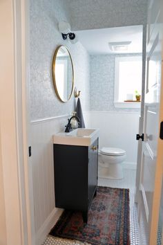 Before & After: A Half Bath Gets a Full Makeover | Apartment Therapy