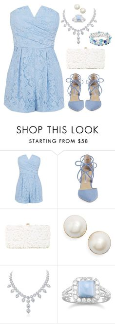 """Blue"" by desireewolfe ❤ liked on Polyvore featuring Coast, Kristin Cavallari, Deux Lux, Kate Spade, BillyTheTree, Avenue, Blue, lace, diamond and babyblue"