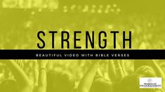 Audio Bible, Bible Verses About Strength, Christian Life, Scriptures, Watch, Check, Youtube, Beautiful, Christian Living