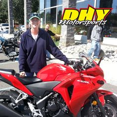 Congratulations to Shelly from #Marlton on the purchase of her 2013 #Honda #CRB250R. She'll be turning heads as easy as she turns corners and we'll be adding another happy customer to the DHY family. #mynewride #dhynj #motorcycle