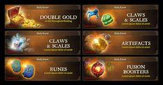 Dungeon hunter 5 Daily Dungeon banners by Panperkin on DeviantArt