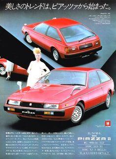 "I remember the ""Joe Isuzu"" ads from the featuring David Leisure! Auto Retro, Retro Cars, Automobile, Classic Japanese Cars, Pub Vintage, Ad Car, Car Brochure, Old School Cars, Japan Cars"