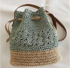 Sac fourre-tout en crochet bohémien Böhmische Häkeltasche This image has . - Knitting for beginners,Knitting patterns,Knitting projects,Knitting cowl,Knitting blanket Mode Crochet, Crochet Tote, Crochet Handbags, Crochet Purses, Diy Crochet, Crochet Baskets, Crochet Crafts, Bag Patterns To Sew, Sewing Patterns Free