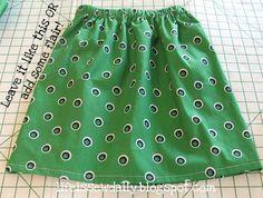"""Sew"" Simple Skirt!"