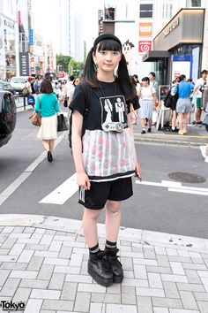 Nontan, 17 years old, student | 5 August 2014 | #Fashion #Harajuku (原宿) #Shibuya (渋谷) #Tokyo (東京) #Japan (日本)