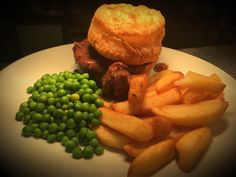 Delicious and ever popular our steak and ale pie with a duo of pastry! Yum
