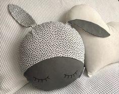 Sleepy Bunny Decor Cushion