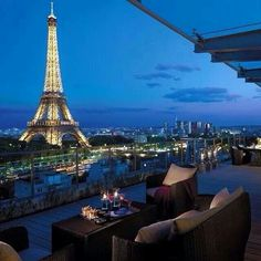 Great view in the city of Love...
