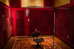 The Vocal Booth at Spider And The Fly Studio. For more info, visit SpiderAndTheFlyStudio.com.