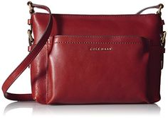 Women's Cross-Body Handbags - Cole Haan Rockland Crossbody Bag Rhododendron One Size ** Check this awesome product by going to the link at the image.