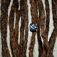 Prodané zboží uživatele Bíds. | Fler.cz My Design, Dreadlocks, Beads, Hair Styles, Beading, Hair Plait Styles, Hair Makeup, Bead, Hairdos