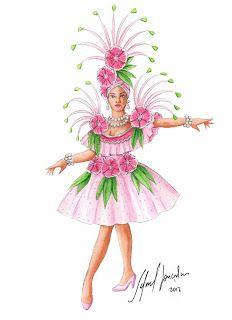 Mardi Gras Costumes, Carnival Costumes, Halloween Costumes, Samba Costume, Theatre Costumes, Costume Design, Tinkerbell, Orlando, Disney Characters