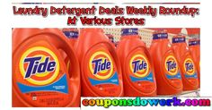 Laundry Detergent Price Roundup At Various Stores 12/18 – 12/24 - http://couponsdowork.com/coupon-deals/laundry-detergent-price-roundup-at-various-stores-1218-1224/
