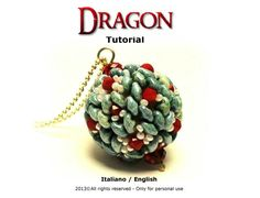 Tutorial Dragon beaded bead