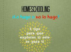 Homeschooling ¿lo hago o no lo hago