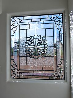 Frosted Glass Door, Stained Glass Door, Stained Glass Designs, Stained Glass Panels, Beveled Glass, Mosaic Glass, Leaded Glass Windows, Art Of Glass, House Paint Exterior